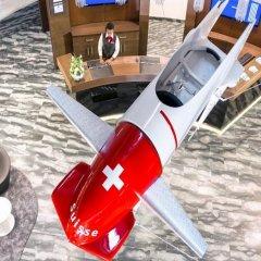 Отель Dorint Airport-Hotel Zürich Швейцария, Глаттбруг - отзывы, цены и фото номеров - забронировать отель Dorint Airport-Hotel Zürich онлайн приотельная территория