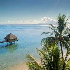 Отель Tahiti Ia Ora Beach Resort - Managed by Sofitel Французская Полинезия, Пунаауиа - отзывы, цены и фото номеров - забронировать отель Tahiti Ia Ora Beach Resort - Managed by Sofitel онлайн пляж фото 2
