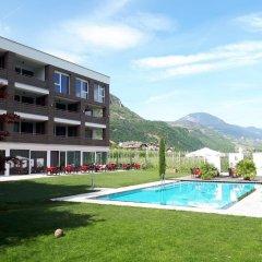 Hotel Gantkofel Терлано бассейн