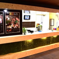 Tokyo Central Youth Hostel Токио гостиничный бар