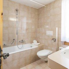 Отель Languard Швейцария, Санкт-Мориц - отзывы, цены и фото номеров - забронировать отель Languard онлайн ванная фото 2