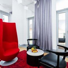 Отель EMPIRENT Aquarius Apartments Чехия, Прага - отзывы, цены и фото номеров - забронировать отель EMPIRENT Aquarius Apartments онлайн комната для гостей фото 4