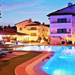 Club Likya Apartment Турция, Мармарис - отзывы, цены и фото номеров - забронировать отель Club Likya Apartment онлайн бассейн фото 2