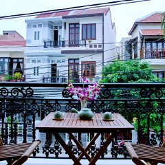 Отель An Hoi Town Homestay балкон