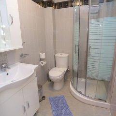 Отель Hilltop Hotel Греция, Ханиотис - отзывы, цены и фото номеров - забронировать отель Hilltop Hotel онлайн ванная