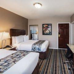 Отель Ramada by Wyndham Vancouver Downtown Канада, Ванкувер - отзывы, цены и фото номеров - забронировать отель Ramada by Wyndham Vancouver Downtown онлайн комната для гостей фото 5