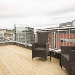 Отель Scandic Sjølyst Норвегия, Осло - отзывы, цены и фото номеров - забронировать отель Scandic Sjølyst онлайн балкон