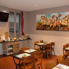 Отель Hôtel Le Canter Сомюр питание фото 2