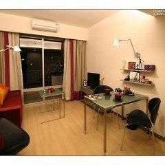 Отель Citadines Biyun Shanghai Китай, Шанхай - отзывы, цены и фото номеров - забронировать отель Citadines Biyun Shanghai онлайн комната для гостей фото 4
