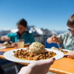 Glacier Hotel Grawand Сеналес питание фото 2