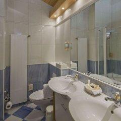 Отель Swiss Alpine Hotel Allalin Швейцария, Церматт - отзывы, цены и фото номеров - забронировать отель Swiss Alpine Hotel Allalin онлайн ванная