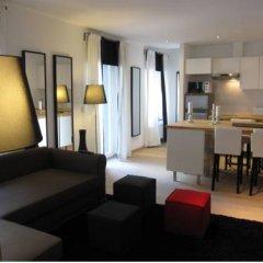 Отель Liège Flats Бельгия, Льеж - отзывы, цены и фото номеров - забронировать отель Liège Flats онлайн комната для гостей фото 4