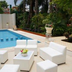 Hotel Villa Las Margaritas Sucursal Caxa бассейн