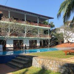 Отель Wunderbar Beach Club Hotel Шри-Ланка, Бентота - отзывы, цены и фото номеров - забронировать отель Wunderbar Beach Club Hotel онлайн бассейн