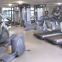 Отель Chicago Marriott Oak Brook фитнесс-зал фото 3