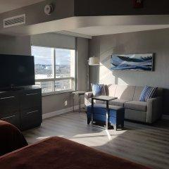 Отель Quality Suites Toronto Airport Канада, Торонто - отзывы, цены и фото номеров - забронировать отель Quality Suites Toronto Airport онлайн комната для гостей фото 5
