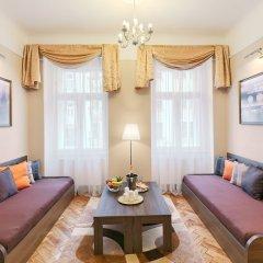 Отель Residence Milada Чехия, Прага - отзывы, цены и фото номеров - забронировать отель Residence Milada онлайн комната для гостей фото 8