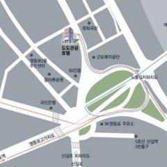 Отель Dodo Tourist Сеул интерьер отеля