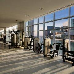 Отель Beach Rotana Residences фитнесс-зал