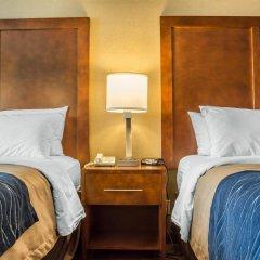 Отель Comfort Inn The Pointe США, Ниагара-Фолс - отзывы, цены и фото номеров - забронировать отель Comfort Inn The Pointe онлайн комната для гостей фото 2