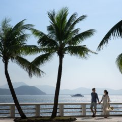 JW Marriott Hotel Sanya Dadonghai Bay пляж