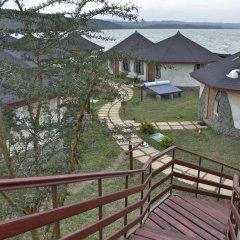 Отель Sentrim Elementaita Lodge Кения, Накуру - отзывы, цены и фото номеров - забронировать отель Sentrim Elementaita Lodge онлайн балкон