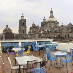 Отель Mexiqui Zocalo Мексика, Мехико - отзывы, цены и фото номеров - забронировать отель Mexiqui Zocalo онлайн бассейн фото 2