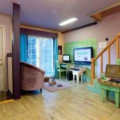 Отель Swiss Pension Южная Корея, Пхёнчан - отзывы, цены и фото номеров - забронировать отель Swiss Pension онлайн комната для гостей фото 3