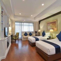 Отель Centre Point Silom Бангкок комната для гостей