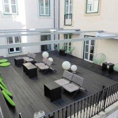 Отель Gat Rossio Лиссабон балкон