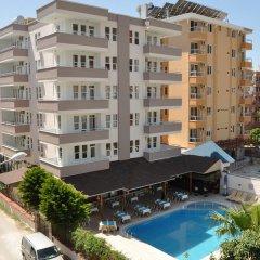 Kleopatra South Star Apart Турция, Аланья - 1 отзыв об отеле, цены и фото номеров - забронировать отель Kleopatra South Star Apart онлайн бассейн фото 2