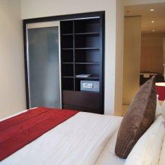 Отель Ascott Park Place Dubai сейф в номере