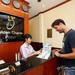Отель Hanoi Golden Charm Hotel Вьетнам, Ханой - отзывы, цены и фото номеров - забронировать отель Hanoi Golden Charm Hotel онлайн интерьер отеля фото 2