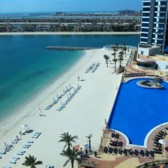 Отель Oceana The Palm Jumeirah пляж фото 2