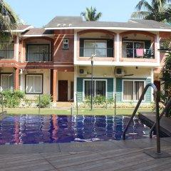 Апартаменты OYO 11963 Home Cozy Studio Arpora Гоа бассейн фото 2