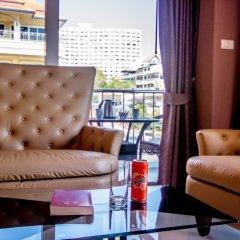 Отель New Nordic Marcus Таиланд, Паттайя - 12 отзывов об отеле, цены и фото номеров - забронировать отель New Nordic Marcus онлайн балкон фото 2