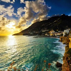 Отель Residenza Sole Италия, Амальфи - отзывы, цены и фото номеров - забронировать отель Residenza Sole онлайн пляж
