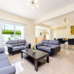 Отель Villa Zacharia Кипр, Протарас - отзывы, цены и фото номеров - забронировать отель Villa Zacharia онлайн комната для гостей фото 2