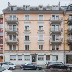 Отель VISIONAPARTMENTS Zurich Albertstrasse Цюрих