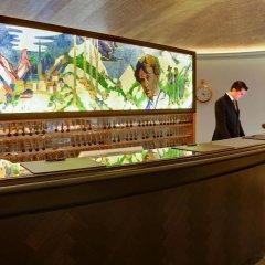 Отель Steigenberger Grandhotel Belvedere Швейцария, Давос - 1 отзыв об отеле, цены и фото номеров - забронировать отель Steigenberger Grandhotel Belvedere онлайн интерьер отеля