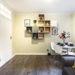 Апартаменты Tonbridge Street · Trendy 1 Bed Apartment Near King's Cross Лондон комната для гостей фото 2