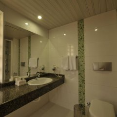 Belcehan Deluxe Hotel Турция, Олудениз - отзывы, цены и фото номеров - забронировать отель Belcehan Deluxe Hotel онлайн ванная