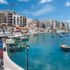 Отель Modern 2 Bedroom Apartment in St Julians Мальта, Сан Джулианс - отзывы, цены и фото номеров - забронировать отель Modern 2 Bedroom Apartment in St Julians онлайн фото 16