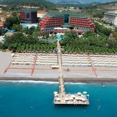 Delphin Deluxe Турция, Окурджалар - отзывы, цены и фото номеров - забронировать отель Delphin Deluxe онлайн пляж фото 2