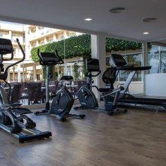 Hotel Club Sur Menorca Сан-Луис фитнесс-зал фото 4