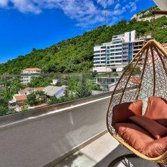 Отель Lusso Mare Черногория, Будва - отзывы, цены и фото номеров - забронировать отель Lusso Mare онлайн балкон