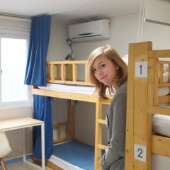 Отель 24 Guesthouse Hongdae сейф в номере