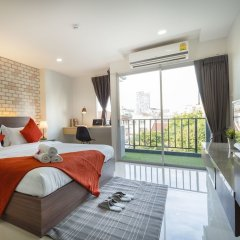 Отель Q Space Residence Бангкок комната для гостей фото 4