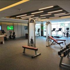 Royal M Hotel & Resort Abu Dhabi фитнесс-зал