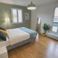 Апартаменты Apartment With 2 Bedrooms in Boulogne-billancourt, With Furnished Terrace and Wifi Булонь-Бийанкур комната для гостей